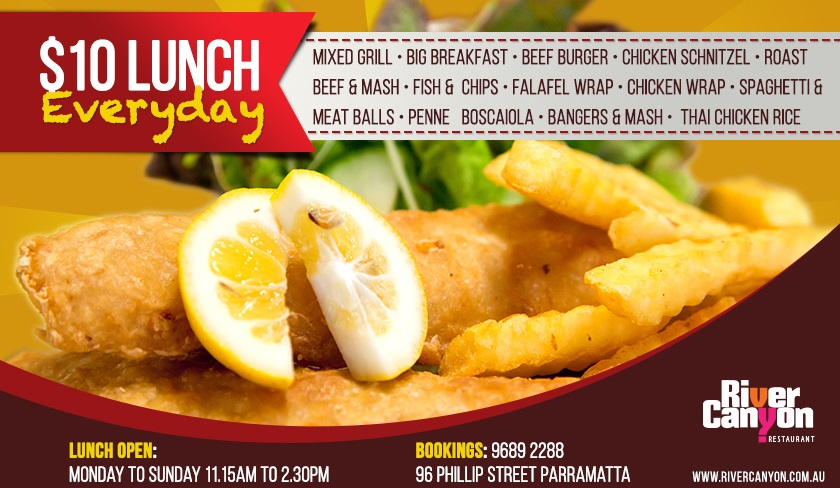 Cheap Lunch Menu