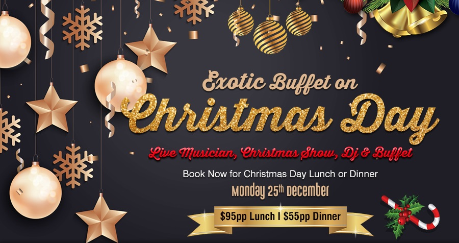 River canyon bar grill entertainment restaurant at for What s open to eat on christmas day