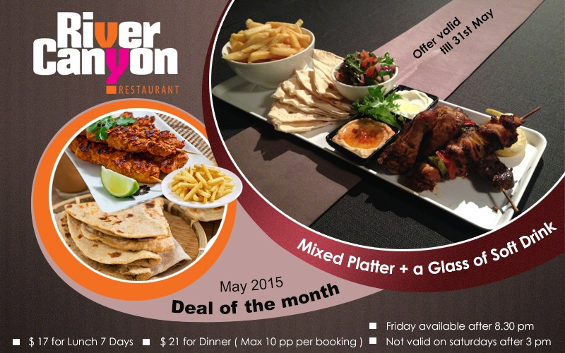 Restaurant Deal of the Month Parramatta