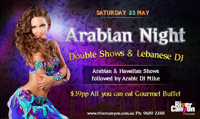 Arabian and lebanese Night Sydney