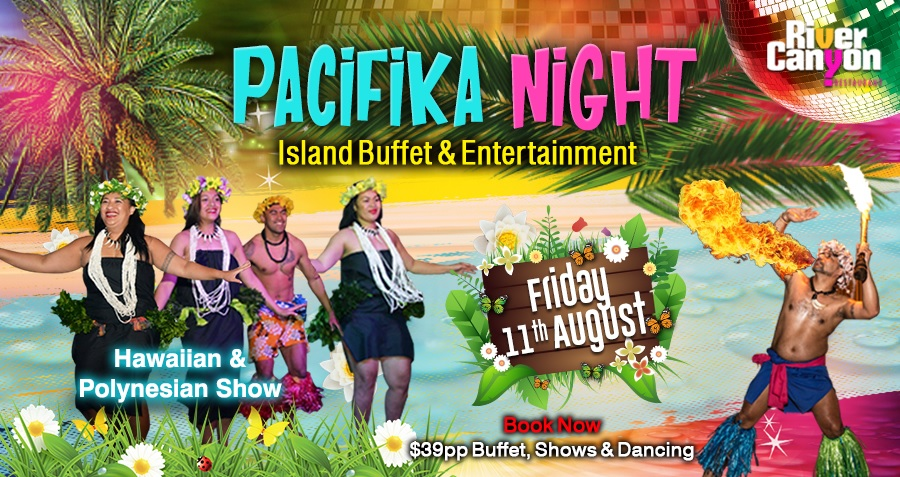 Pacific Island Night with Polynesian Shows and DJ, Dinner, Shows, DJ